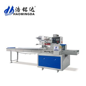 Good Price flow type pillow Zip fastener packing machine
