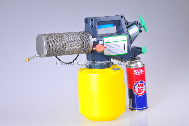 ISO, CE certification Top sale China butane gas mini mist fogging machine in insecticide with pest .mosquito killer