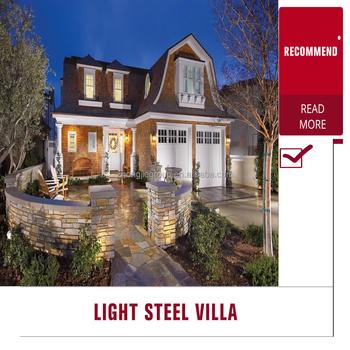 Hot Selling Light Gauge Steel Frame House,Quick Assembly Prefab ...
