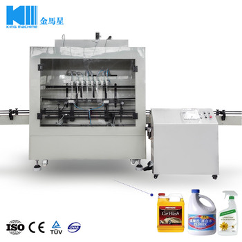 Automatic Liquid Detergent Filling Machine