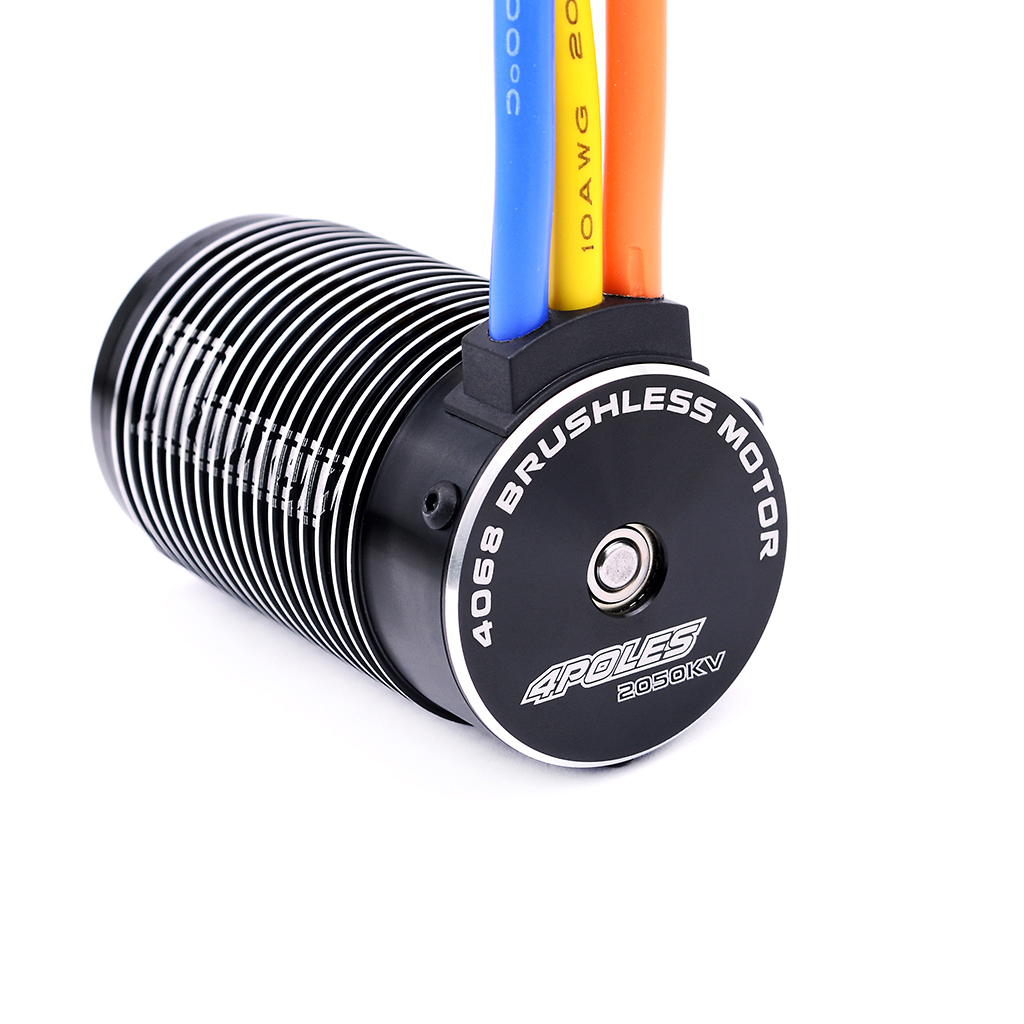 Rocket brand 1/8 4 poles ROAR legal sensorless 4068 engine brushless motor