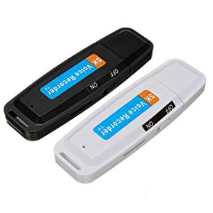 USB 2.0 Digital Spy Pen Audio Voice Recorder Dictaphone Flash Drive U-Disk