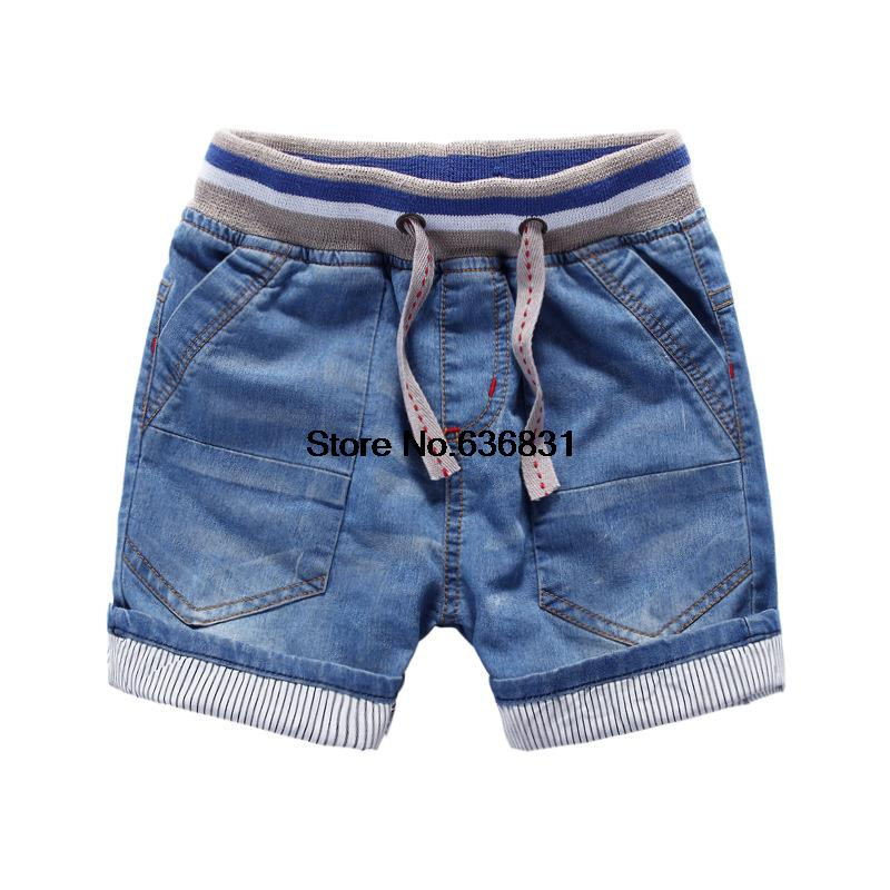 2015 summer cotton casual shorts children fashion jeans shorts good quality boys and girl brand loose denim shorts free shipping