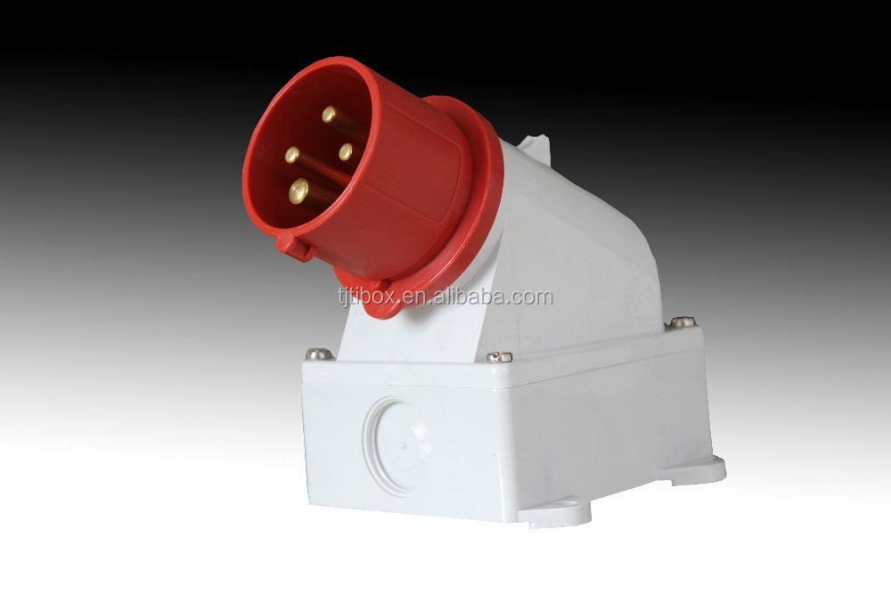 TIBOX Industrial Receptacle and plug/electrical socket