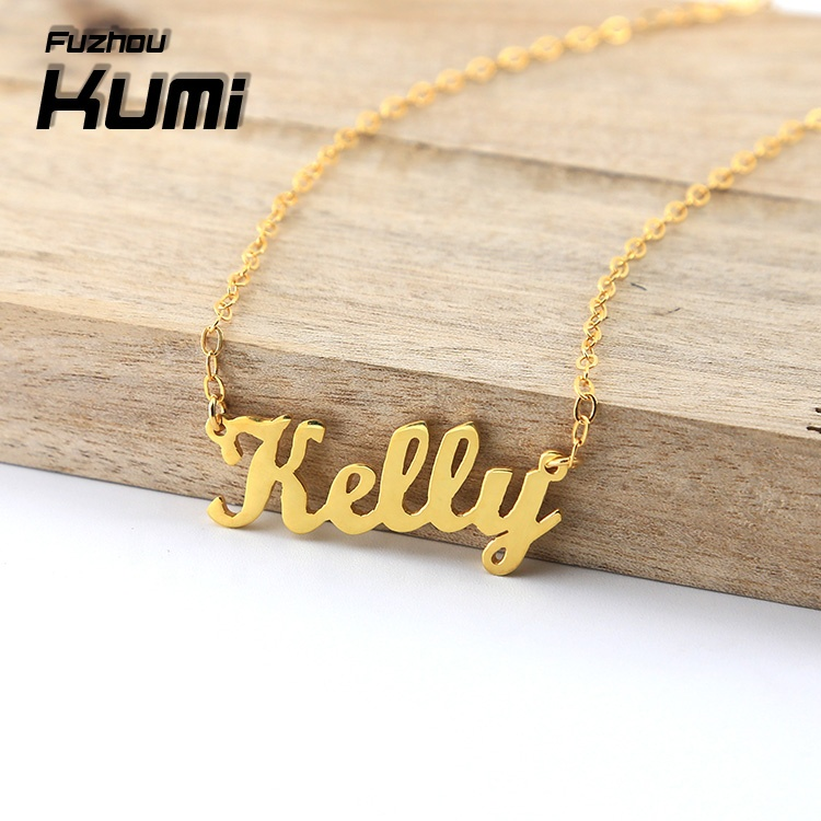 Custom 925 Sterling Silver Personalized Name Necklace 와 Any Name