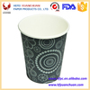 PE coated single wall paper cups for hot drinking