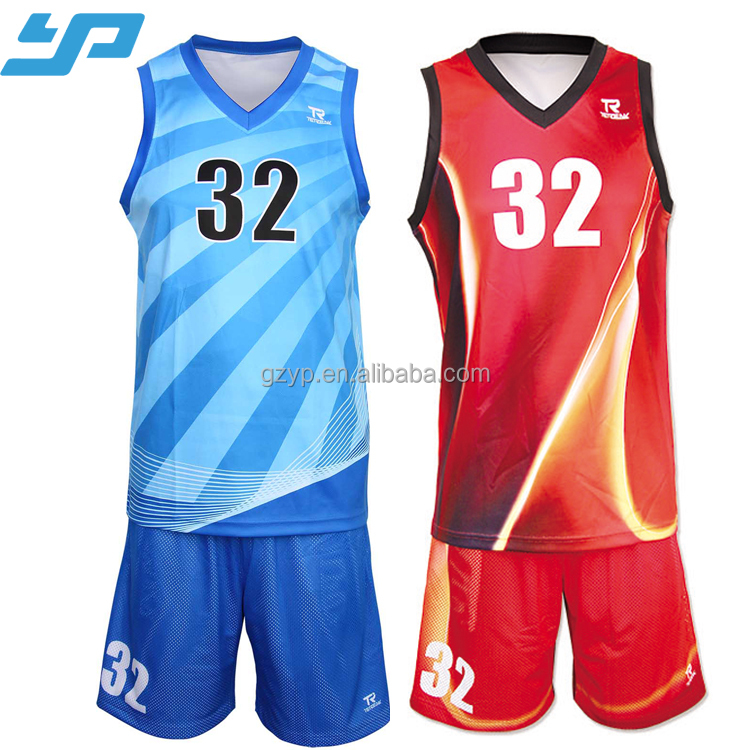1aa688052 Sublimated Reversible Basketball Jerseys