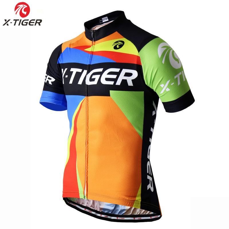 2016 X-Tigre Abstrato Marca Jerseys de Ciclismo mtb bicicleta vestuário Ropa  de 9556d2f368