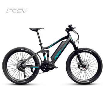 High end electric downhill bike 48V 1000W mid drive Bafang Ultra system