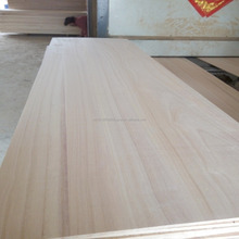Manufacturer price paulownia edge glued panels, solid wood board