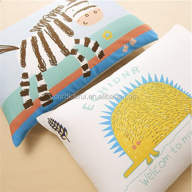 wholesale New Arrival Tomato Zebra polyester home Bedding set 4pcs