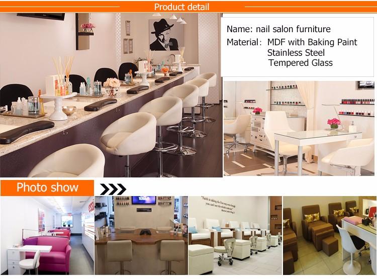 High Quality Modern Manicure Table Nail Salon Furniture