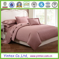 Wholesale jacquard bamboo plain bedding set /bed sheet/duvet cover/pillow