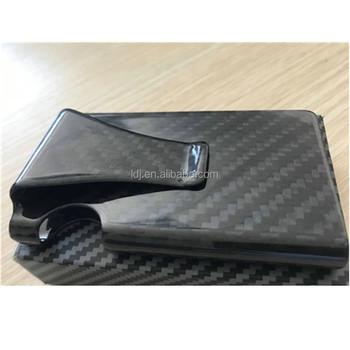 452423a90acb New Design carbon fiber Credit Card Bag Business Card Holder Name Cards Case