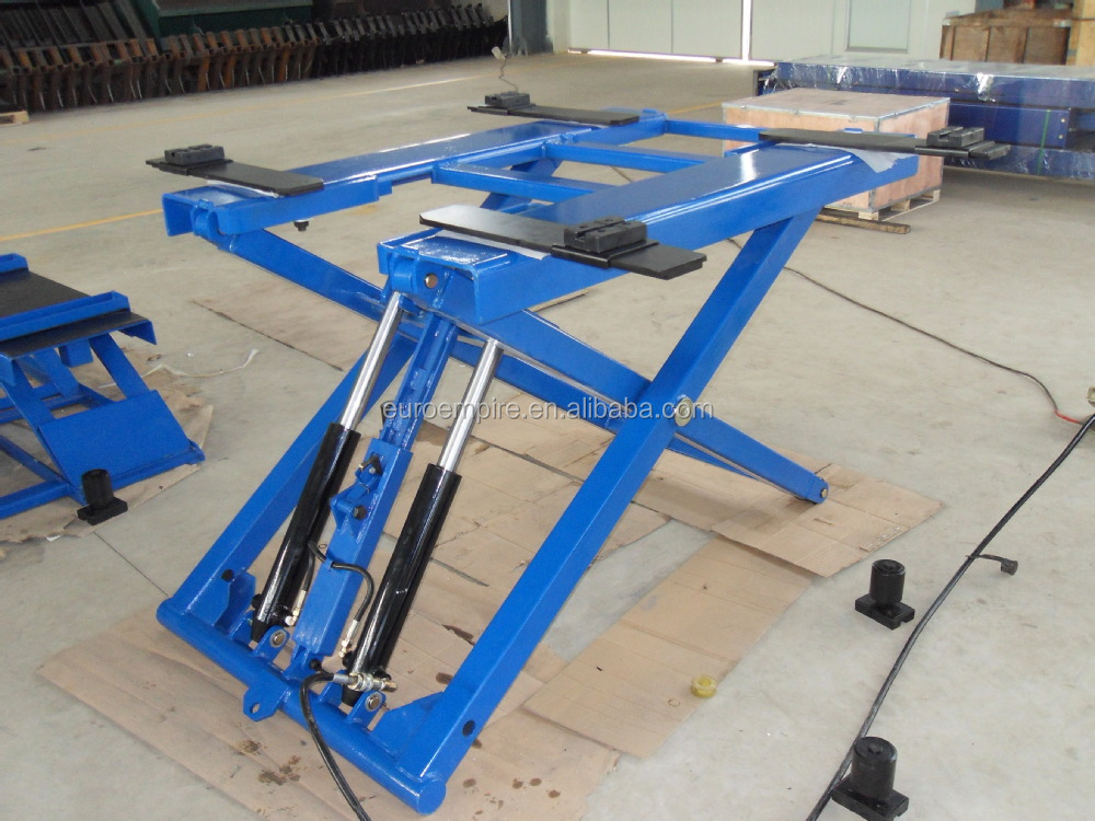 8t container loading ramp to Armenia  Scissor lift blog