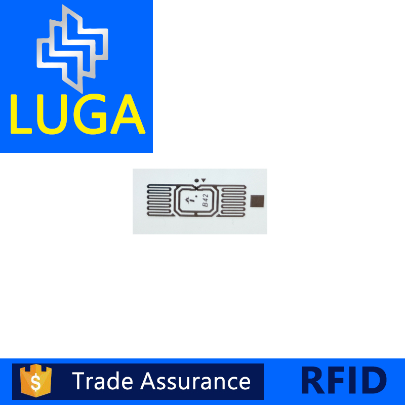Long Distance Passive Monza UHF RFID Adhesive Small Tags Smart Label Roll