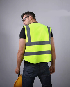 Factory directly supply short sleeve green reflective professional uniform