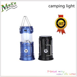 New arrival outdoor camping 6 LED light stretch handle zoom portable fashion lamp led camping lantern