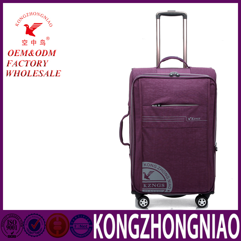 hot sale high quality travel world trolley bags nylon luggage travel bags,travel bags with trolley sleeve
