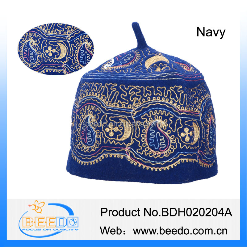cheap low price Africa national muslim men hat kufi islamic caps promotional wholesale distributor