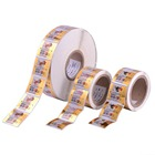 Alkaline Shrink Sleeve Film Battery aluminium material adhesive printing labels