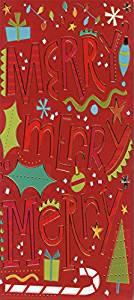 Merry Merry Merry - Designer Greetings 8 Christmas Money & Gift Card Holders