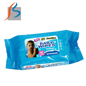 2017 hot sell spunlace baby cleaning wet wipes private label