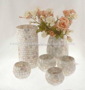 white cheap handblown gl vase poland on