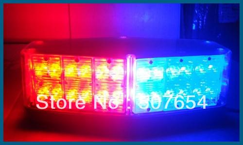 Dc12v, 4 вспышка узор, 56 шт из светодиодов ромб потолок установлен предупреждение лёгкие / мигающий лёгкие с магнит, Сигарета зажигалка