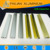 Brushed colorful extruded aluminum picture fram for aluminum framing system