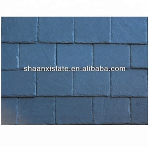 blue grey slate roofing tiles