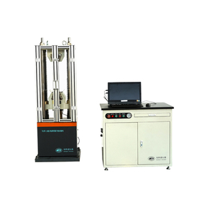 WAW-100B steel wire rope tensile strength servo control test tester testing equipment machine