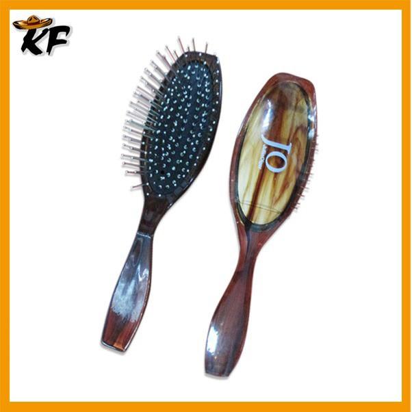 China Factory Metal Pin Hard Bristle Hair Brush