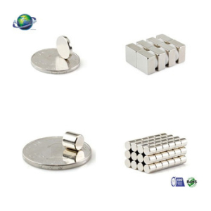 Nickel plated n52 neodymium magnet disc/bar/cylinder mini magnet with ISO/SGS