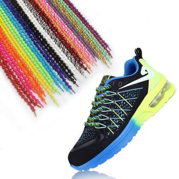 8b9bcb4aa857 No Tie Constant Tension Secure Knot Elastic Shoelaces For Triathlon - Buy Elastic  Shoe Laces