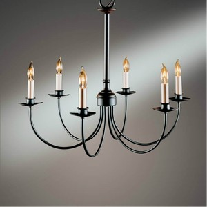 Nordic American country style retro chandelier