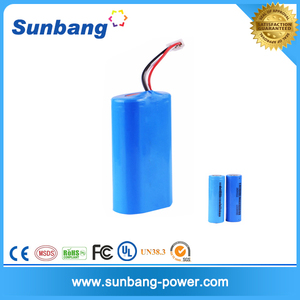 shenzhen high-capacity rechargeable 2.5ah 6v li-ion battery