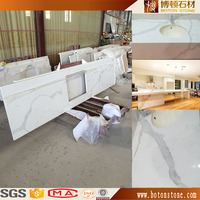 composite quartz countertop, pre cut quartz countertop, glacier white quartz countertop