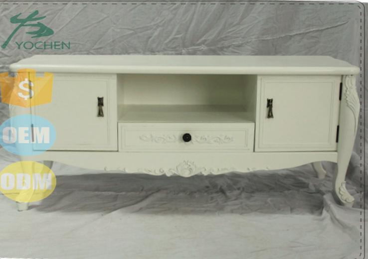 Teak Wood Simple Tv Stand Wood Furniture Tv Cabinet Design India