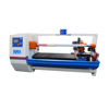 High speed automatic single shaft tape rolls cutting machine