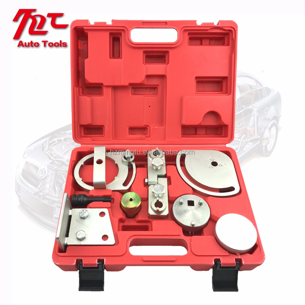 Engine Timing Tool Set For Volvo 3.0,3.2 T6 and Freelander 2 3.2 Chain engine alternator pulley removal tool