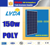 High quality and Competitive price poly 150w solar panel pv module price chart for solar system with TUV/PID/CEC/CQC/IEC/CE