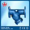 Cast steel y filter valve/flange end Y type filter