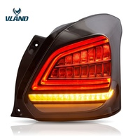 2019 new Car LED taillight for Suzuki Swift Tail Lamp 2017 2018 2019 Swift Tail lamp moving signal+DRL+Reverse light