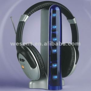 cool wireless headphones with beautiful LED light WST-900