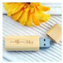 wooden usb box flash pen drive with custom logo usb