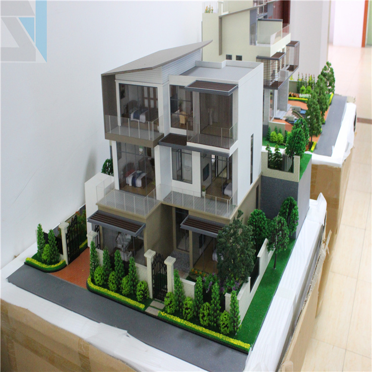 House Design Plan Maquettes,Wooden Handmade Model
