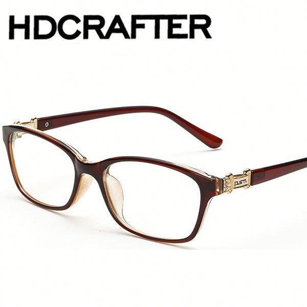 Rectángulo de la vendimia miopía gafas de moda marcos retro gafas ...
