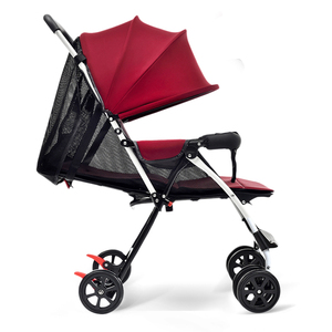 Easy Folding Baby Stroller With Reinforced Plastic Foot Pedal