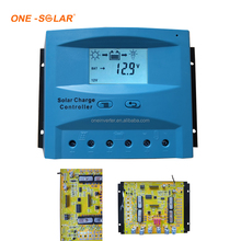 Solar system controller Ce rohs 10a intelligent pwm solar charge controller PWM 12V 24V Voltage LCD Display Double